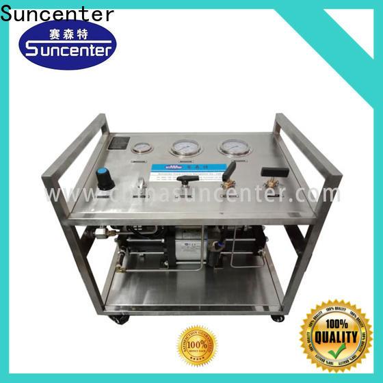 Suncenter test nitrogen pumps free design for safety valve calibration