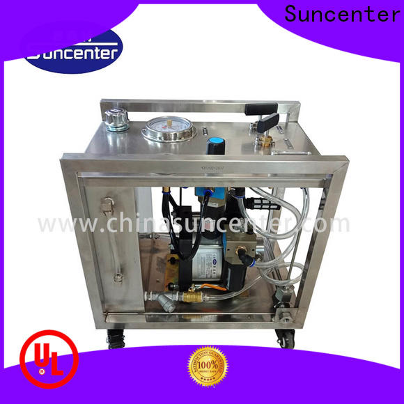 Suncenter pressure hydraulic power unit sensing for machinery
