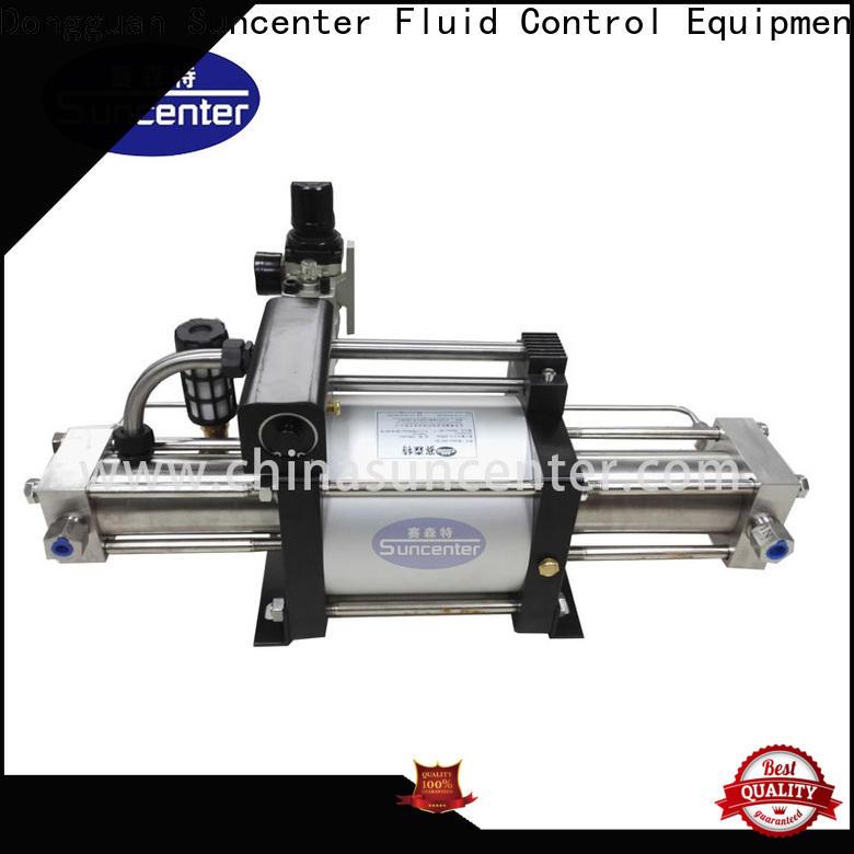 Suncenter outlet pressure booster pump for pressurization