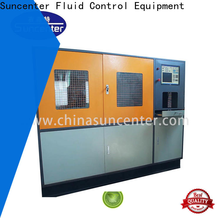 Suncenter hydraulic hydrotest pressure for flat pressure strength test
