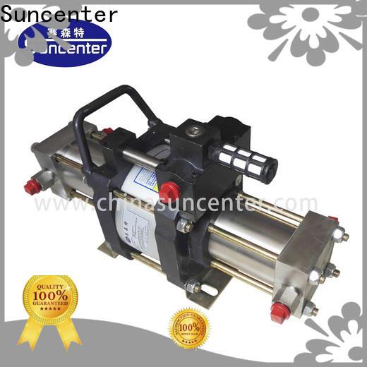 safe booster gas model from manufacturer for pressurization