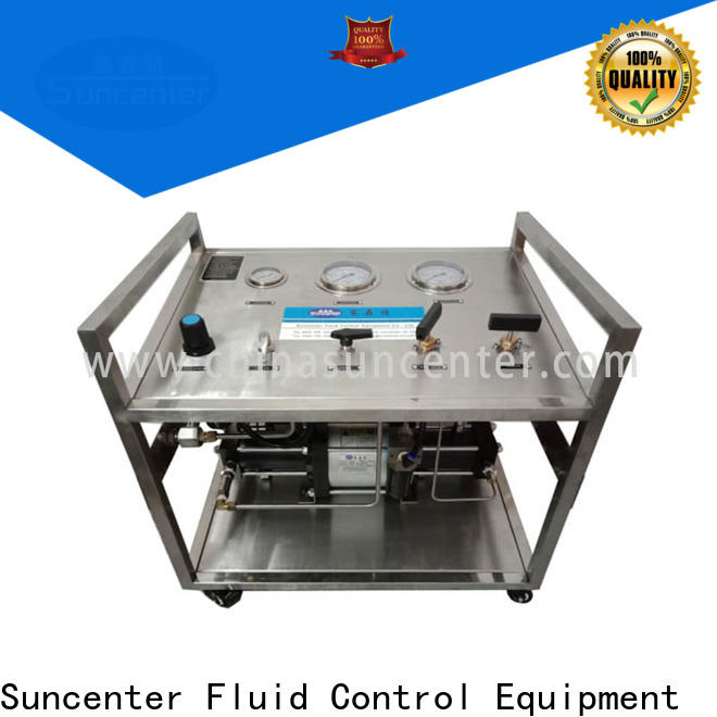 Suncenter portable nitrogen pumps for-sale for natural gas boosts pressure