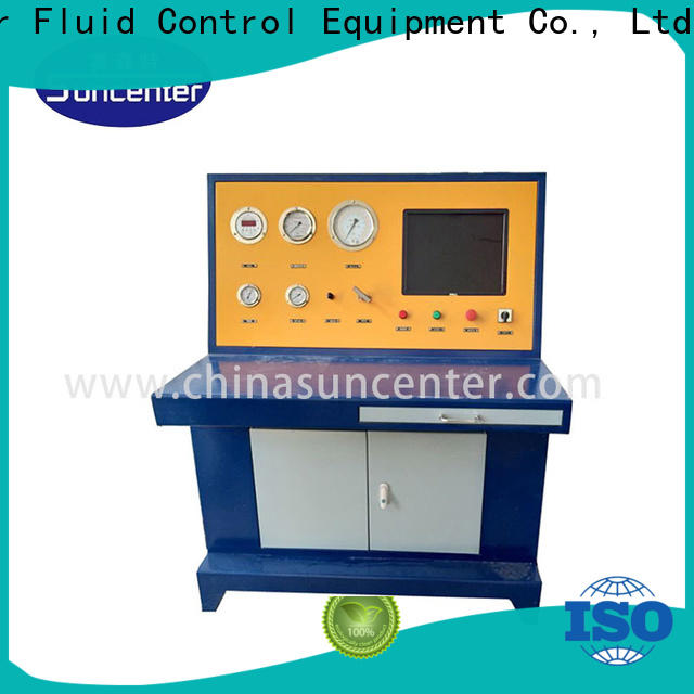 Suncenter advanced technology cylinder pressure tester marketing for petrochemical