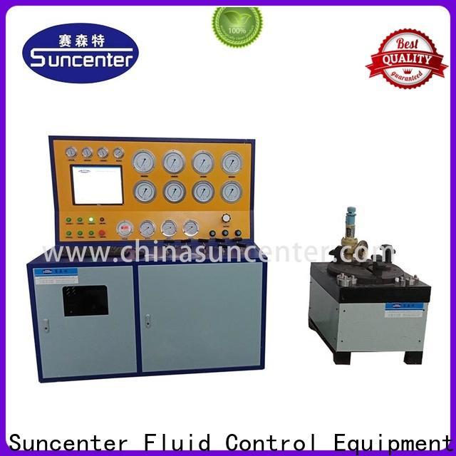 Suncenter control hydro pressure tester for factory