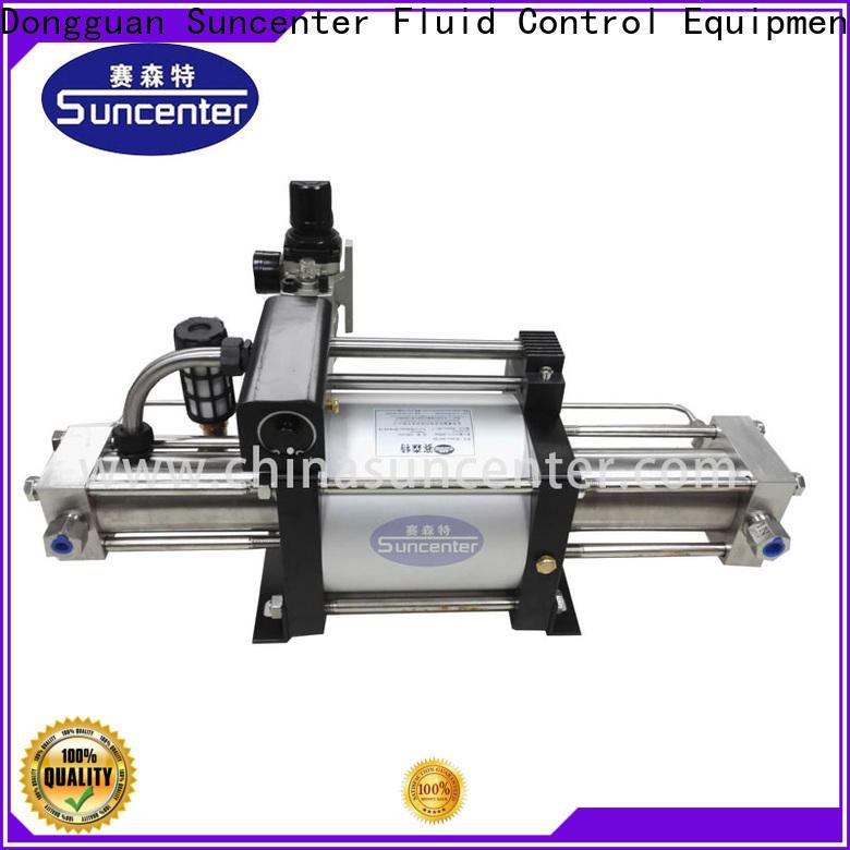 Suncenter oxygen pumps bulk production for pressurization