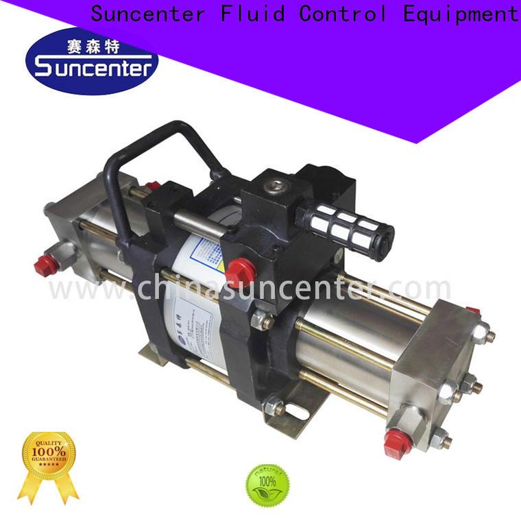 Suncenter safe nitrogen pump for pressurization