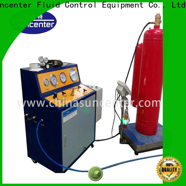 Suncenter industry-leading automatic filling machine type for fire extinguisher