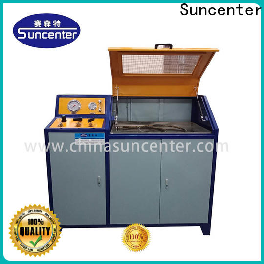 Suncenter long life pressure test solutions for pressure test