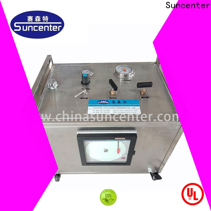 Suncenter series hydrostatic testing factory price for machinery