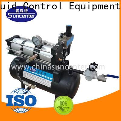 Suncenter max booster air compressor vendor for pressurization