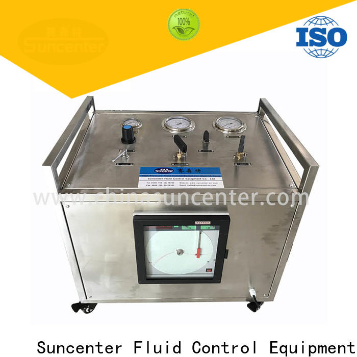 Suncenter bench pressure booster pump for safety valve calibration
