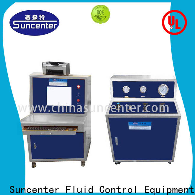 Suncenter easy to use compression testing machine for pressure test