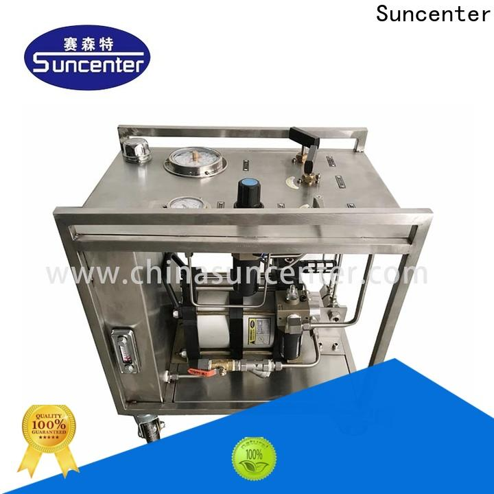 Suncenter chemical haskel pump equipment for medical
