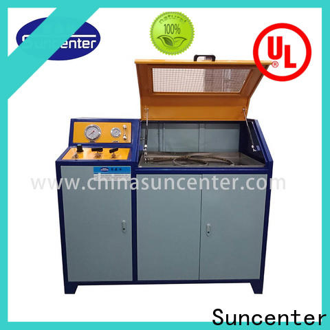 Suncenter high-quality water pressure tester application for flat pressure strength test