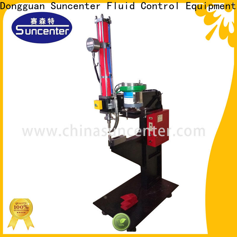 Suncenter model reviting machine from manufacturer for connection