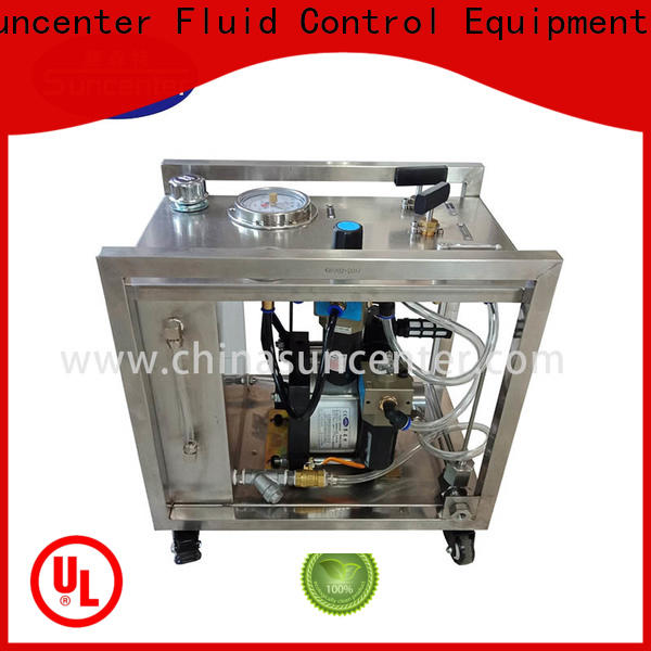 Suncenter chart hydraulic power unit overseas market for petrochemical