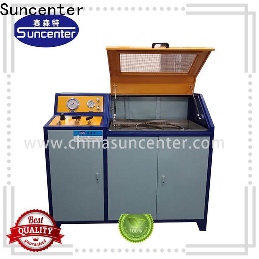 Suncenter automatic pressure test pump solutions for flat pressure strength test