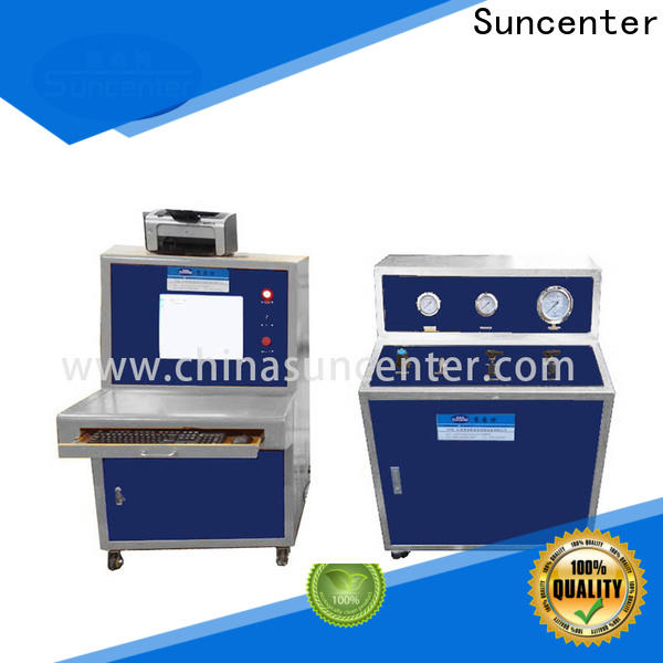 Suncenter high-quality pressure test in China for flat pressure strength test