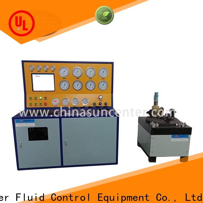 Suncenter professional hydro pressure tester factory price for industry