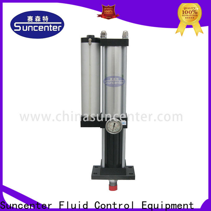 Suncenter stable pneumatic cylinder sensing for equipment