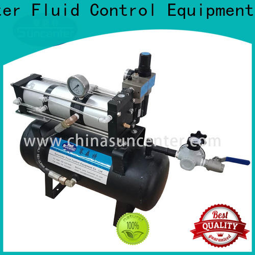 Suncenter pressure air compressor pump from china for safety valve calibration