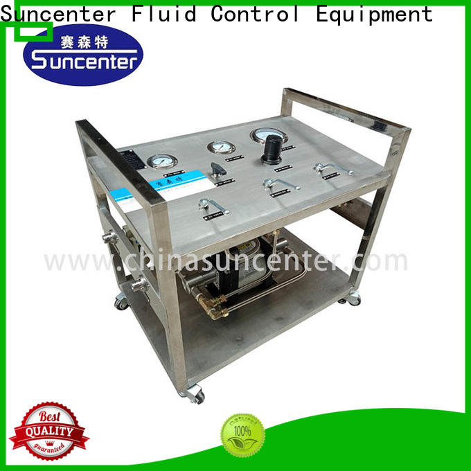 Suncenter gas booster pump price supplier for safety valve calibration