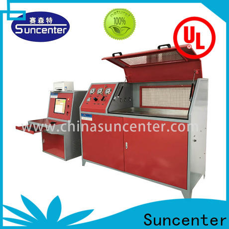 Suncenter high-reputation compression testing machine in China for flat pressure strength test