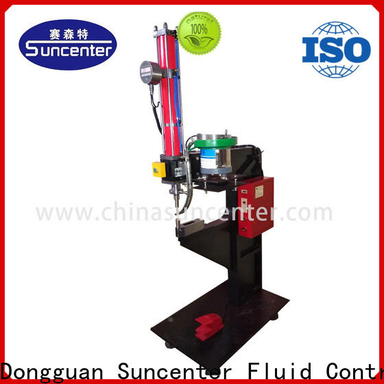 Suncenter advanced technology riveting machine overseas marketing
