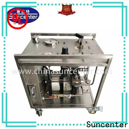 Suncenter injection chemical injection pump testing for medical