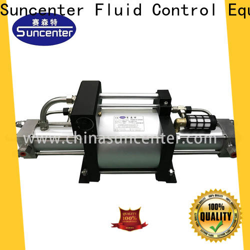 Suncenter durable pump booster type for safety valve calibration