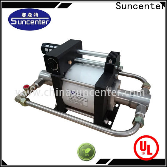 Suncenter liquid booster pump system owner for safety valve calibration