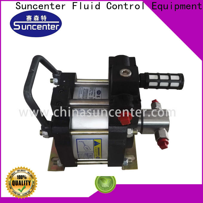 Suncenter easy to use air driven liquid pump in china for petrochemical