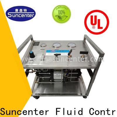 Suncenter high quality hydrostatic pressure test free design for pressurization