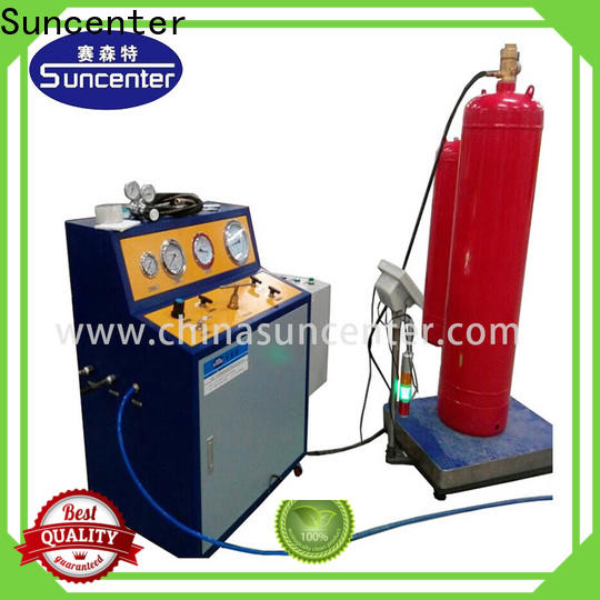 Suncenter irresistible automatic filling machine for fire extinguisher