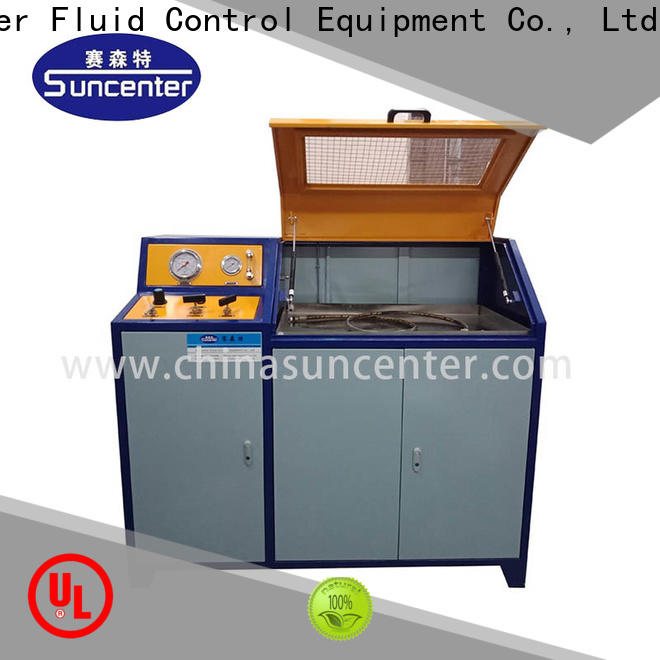easy to use pressure test pump bench in China for pressure test