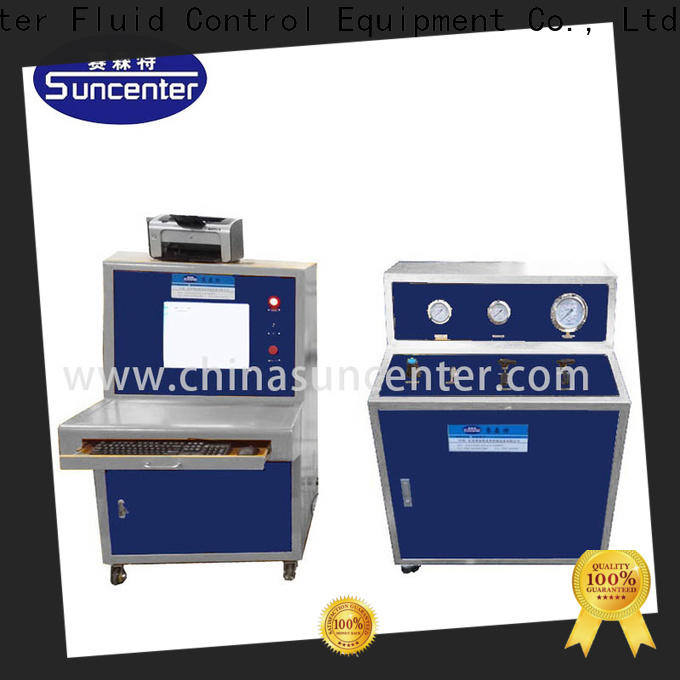 automatic pressure test hydraulic for flat pressure strength test
