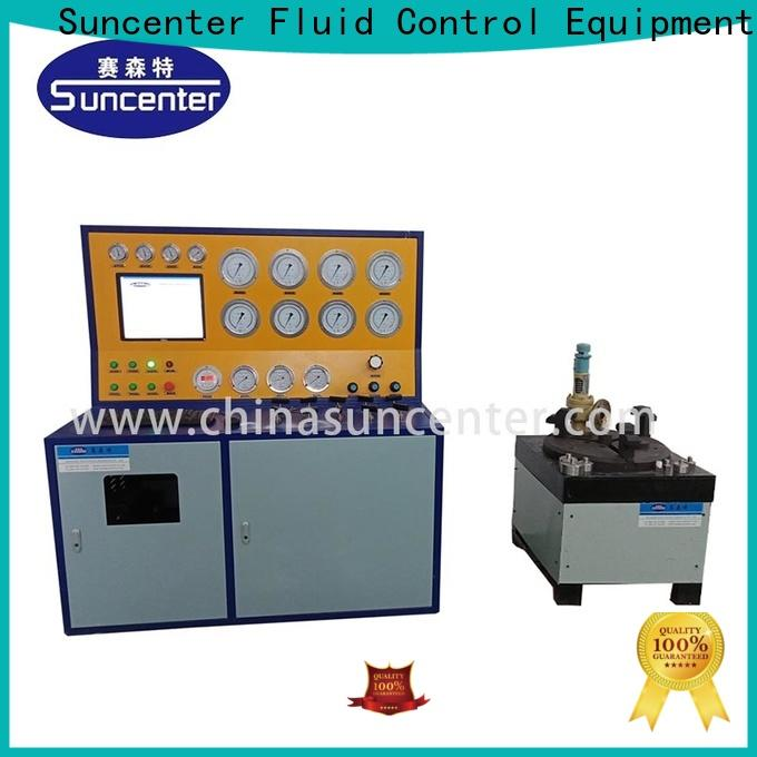 long life valve test bench test factory price for factory