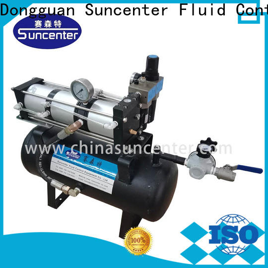 Suncenter energy saving high pressure air pump vendor for natural gas boosts pressure