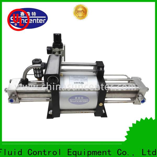 Suncenter energy saving pressure booster pump free design for safety valve calibration