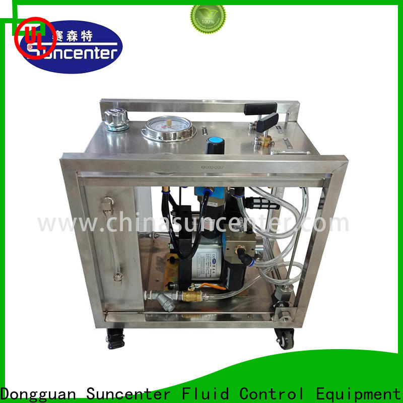 energy saving hydro test pump round overseas market for machinery