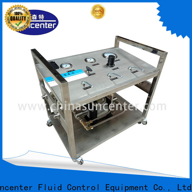 Suncenter durable liquid nitrogen pump owner for safety valve calibration