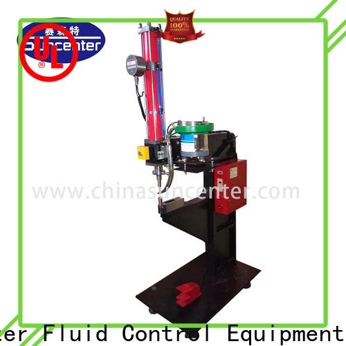 Suncenter low cost orbital riveting machine bulk production for connection