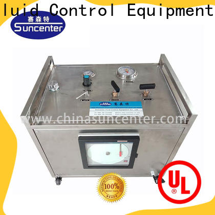 Suncenter long life hydro test pump sensing forshipbuilding