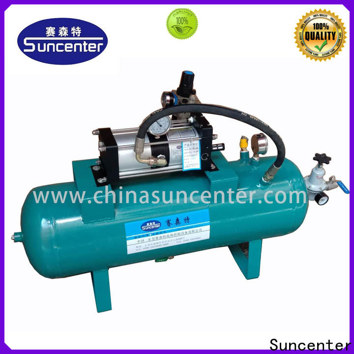 Suncenter widely-used air compressor pump overseas market for natural gas boosts pressure