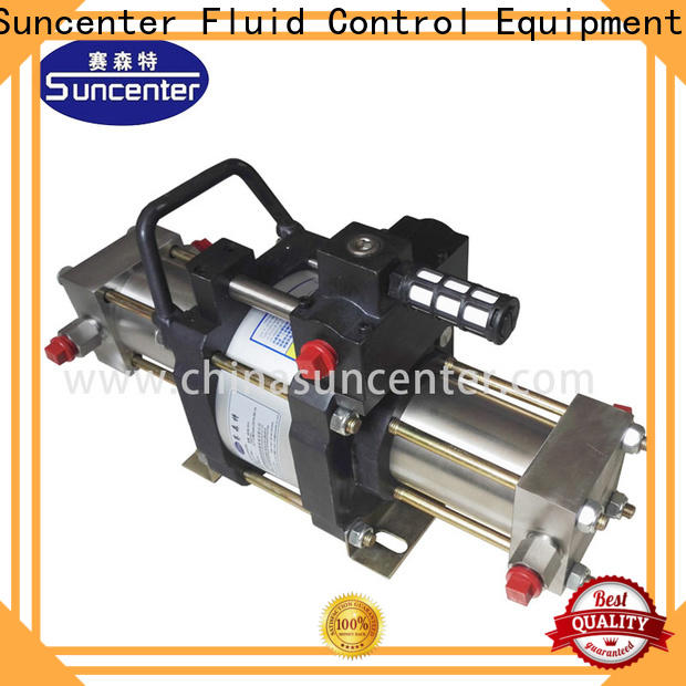 Suncenter high reputation booster gas factory price for safety valve calibration