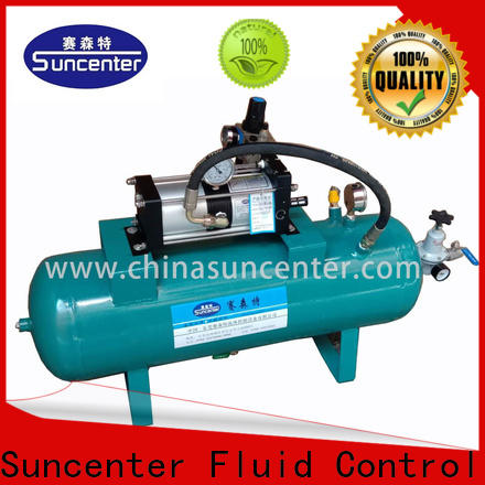 Suncenter easy to use booster air compressor marketing for natural gas boosts pressure