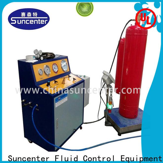 Suncenter machine automatic filling machine for fire extinguisher