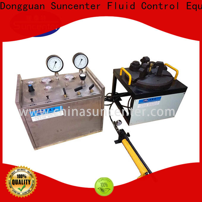 Suncenter computer valve test bench type for factory