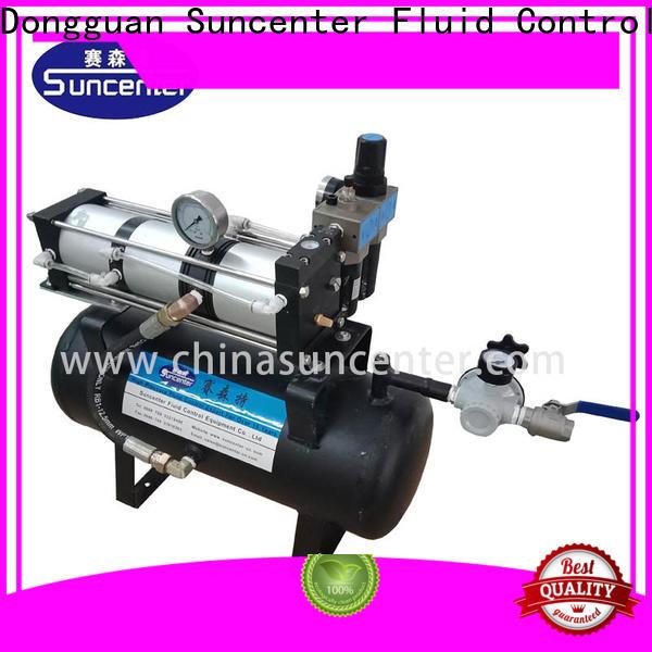 Suncenter max air compressor pump marketing for safety valve calibration