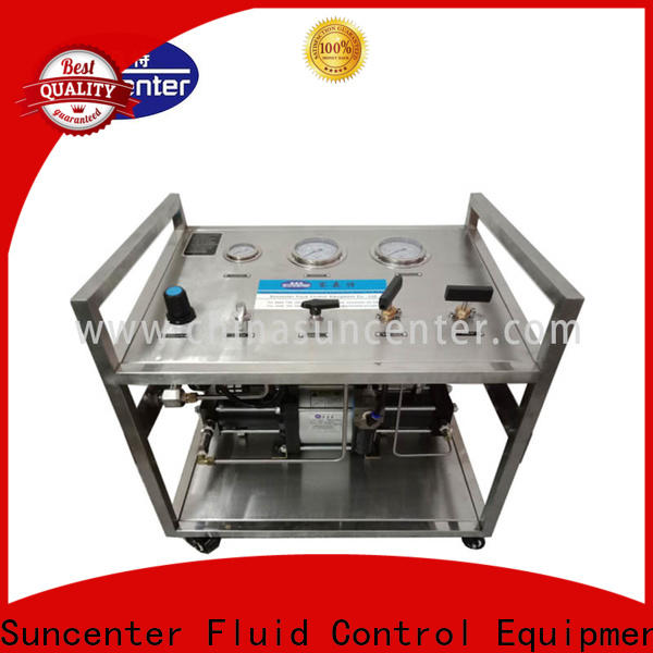 Suncenter safe hydraulic test bench bulk production for safety valve calibration